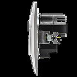 Розетка с заземлением и двумя USB портами MARSHEL Элегант, фото 4