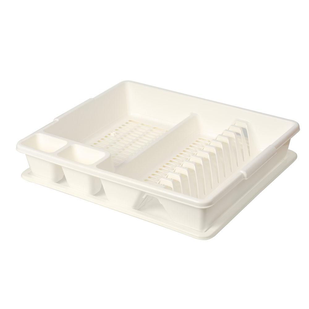 Сушилка для посуды Tontarelli 47х38х8,5см Белый