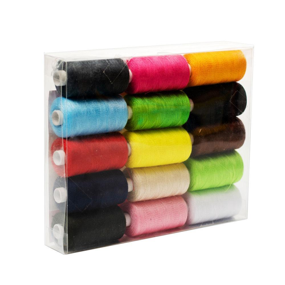 Набор нитей (для шитья 15 цветов) Lotus Products Uni Разноцветный