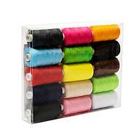 Набір ниток (для шиття 15 кольорів) Lotus Products Uni Різнобарвний