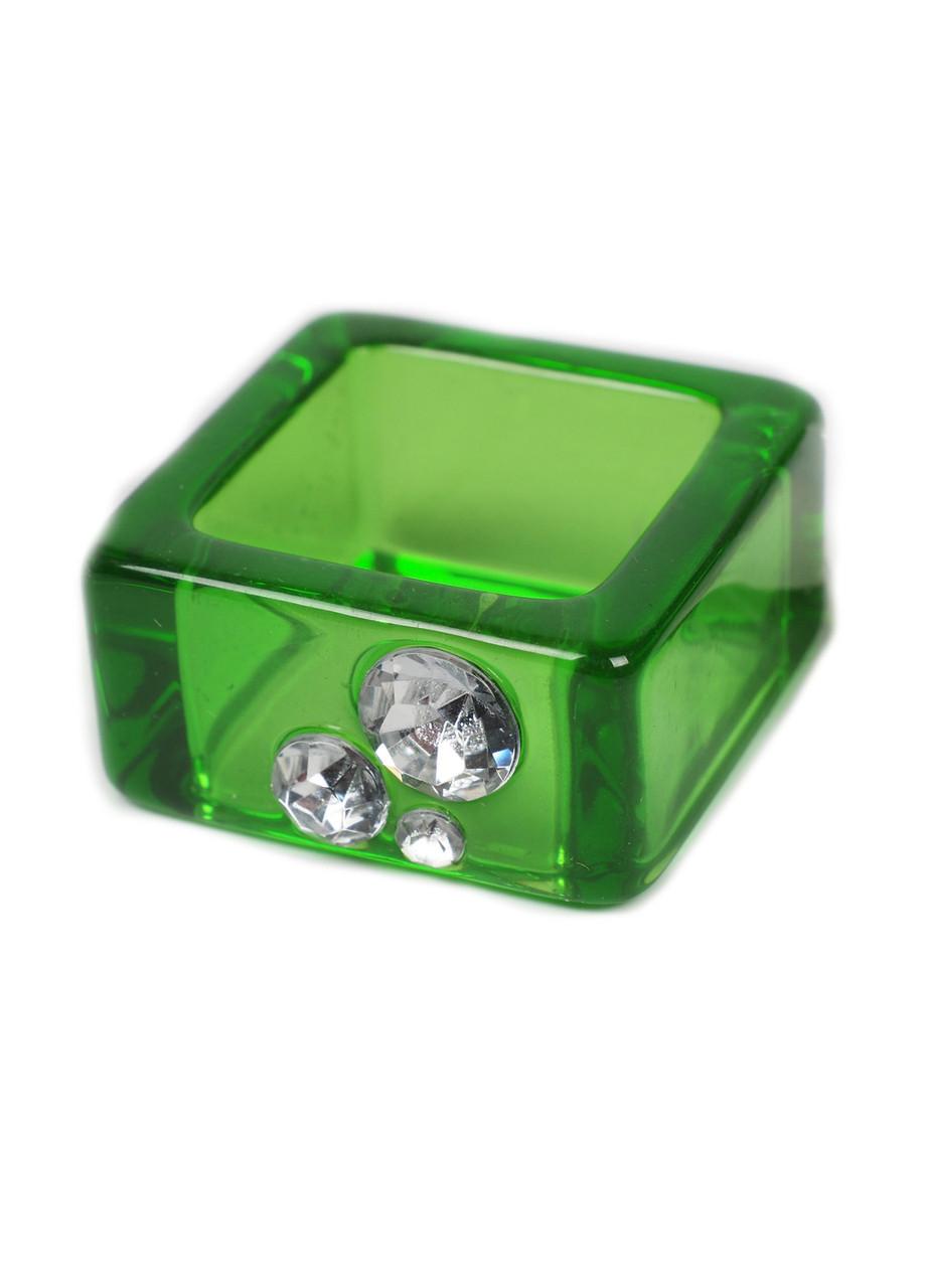 Держатель для столовых салфеток NATALE 2,5х2,5см Зелений