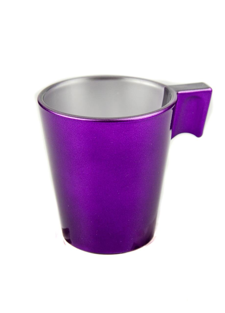 Чашка для кофе Luminarc 0,075л Фиолетовый, Серый