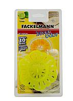 Сетка для раковины с ароматизатором Fackelmann 10х9см Желтый