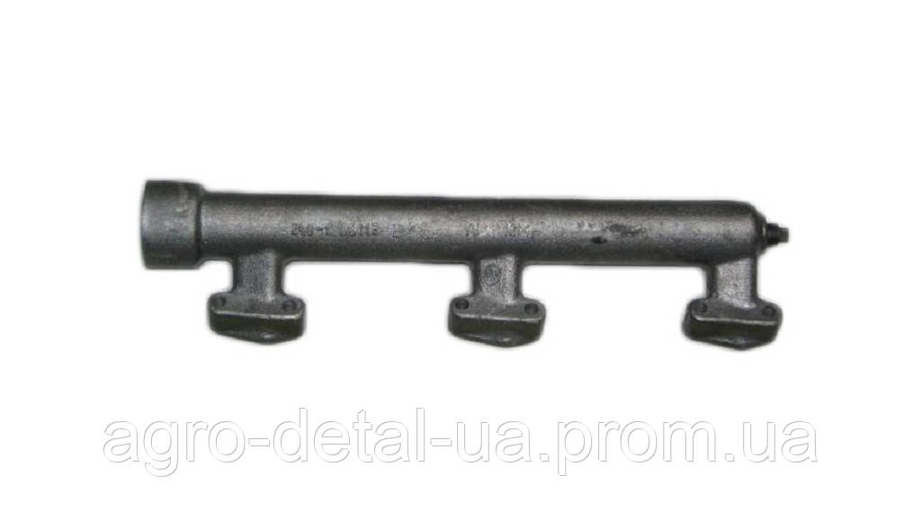 Труба водяная задняя правая 240-1303108-Бпод раздельную головку,системы охлаждения двигателяЯМЗ 240
