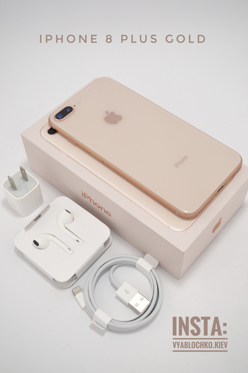 Apple iPhone 8 Plus 256Gb Gold (Б/у)