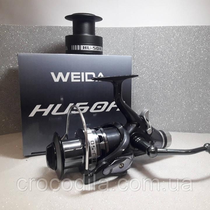 Карповая катушка с бейтраннером Kaida ( Weida) HU 60A