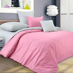 Двуспальные комплекты однотонного постельного белья