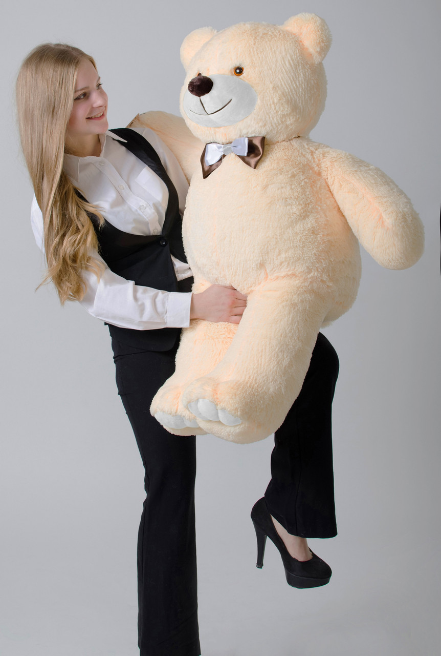 Плюшевый мишка Mister Medved Бежевый 110 см