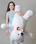 Плюшевий ведмедик Mister Medved Білий 110 см, фото 3