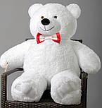 Плюшевий ведмедик Mister Medved Білий 110 см, фото 4