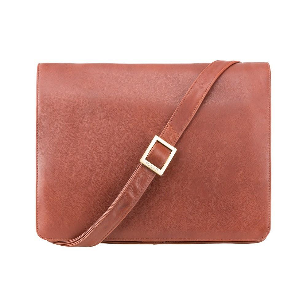 Горизонтальная сумка Visconti 753 brown (Великобритания)