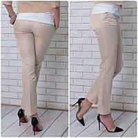 Женские брюки, арт 314, цвет беж