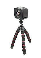 Экшн-камера 360 градусов  Goclever Uni черный, красный