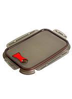 Крышка для лотка  Rotho 26,5х20см Черный, Красный