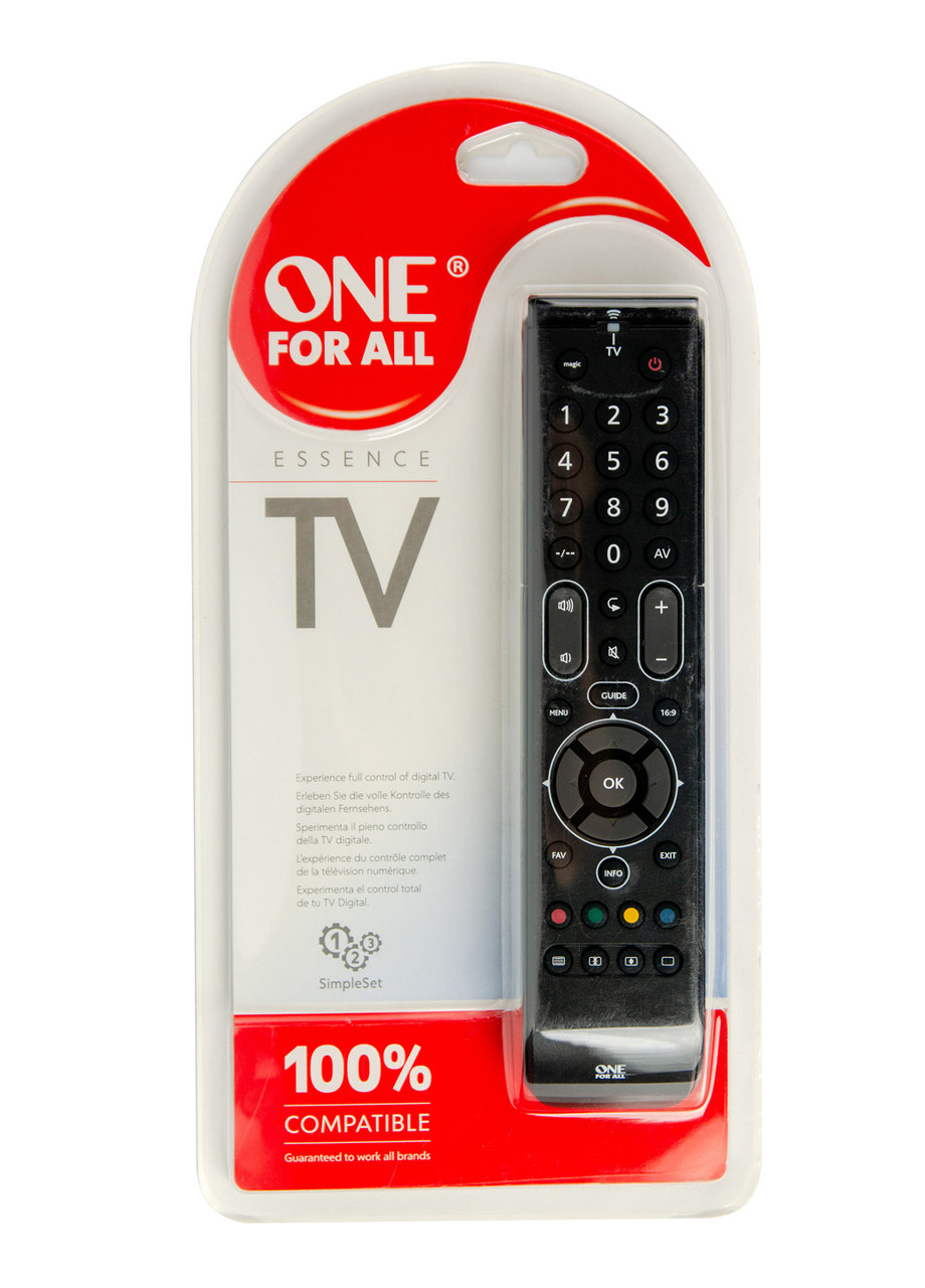 Пульт для TV One for all 22см Черный