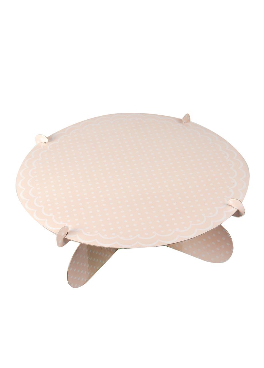 Подставка для кексов Zenker 32х10,5см Персиковый , Белый