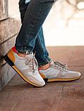 Мужские кроссовки South Oxford L-gray, мужские серые классические кроссовки , фото 2