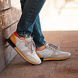 Мужские кроссовки South Oxford L-gray, мужские серые классические кроссовки , фото 4