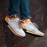 Мужские кроссовки South Oxford L-gray, мужские серые классические кроссовки , фото 5