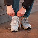 Мужские кроссовки South Oxford L-gray, мужские серые классические кроссовки , фото 6