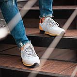 Мужские кроссовки South Oxford L-gray, мужские серые классические кроссовки , фото 7