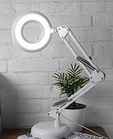 Лампа лупа настольная LED МТ - 305