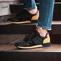 Мужские кроссовки South Oxford Black, мужские черные классические кроссовки