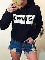 """Укороченый  свитшот с капюшоном """"Levi's"""""""