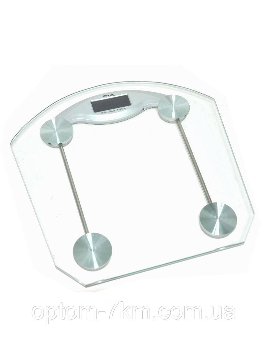 Ваги підлогові прозорі квадратні до 180 кг. D&T-2003B am