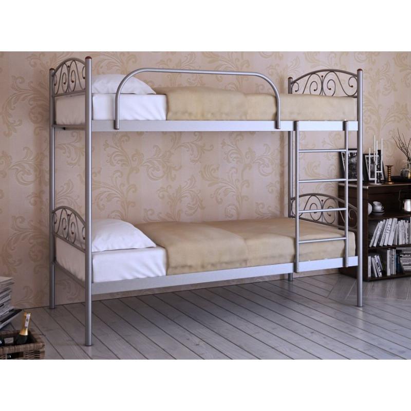 Двухъярусная металлическая кровать Design Service (1144)