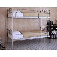 Двухъярусная металлическая кровать Design Service (1144), фото 1