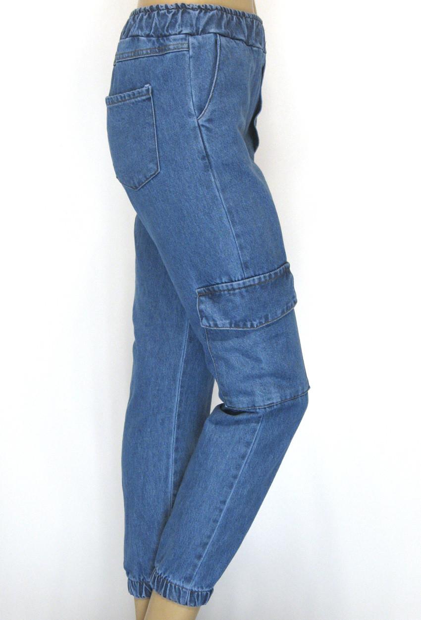 Джинси Mom Jeans на резинці