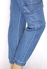 Джинси Mom Jeans на резинці, фото 2