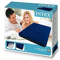 Надувной велюровый матрас Intex 68759 -  Двухместный 152*203*22 см
