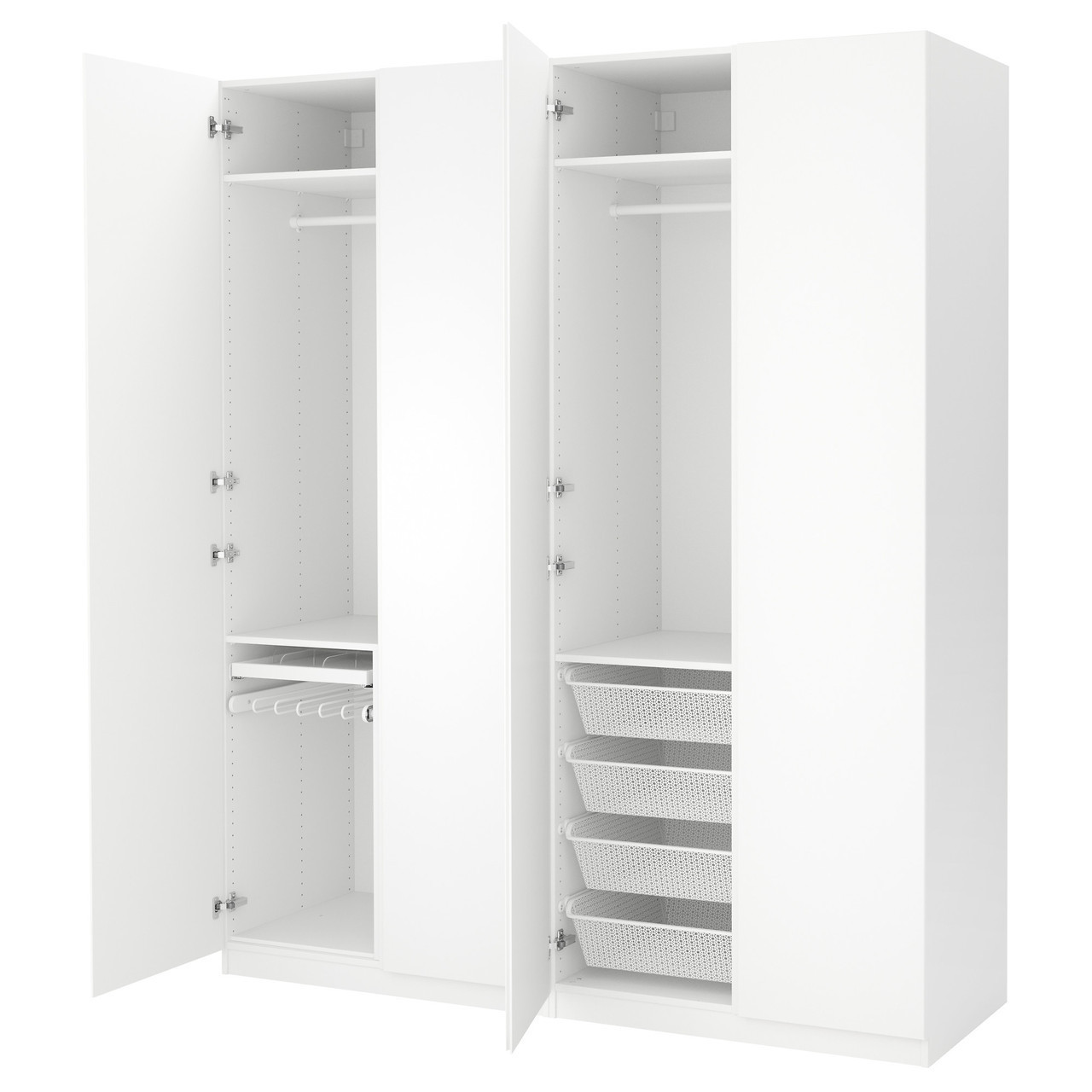 PAX Шкаф, белый, Vikanes белый 991.283.30