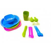 Набор посуды для пикника R86497 36 шт MHZ  , на 4 персоны