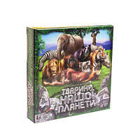 """Карточная игра-викторина """"Животные нашей планеты"""" (укр) G-JNP-01U"""