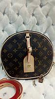 Женская круглая сумка реплика Louis Vuitton Petite Boite Chapeau, фото 1