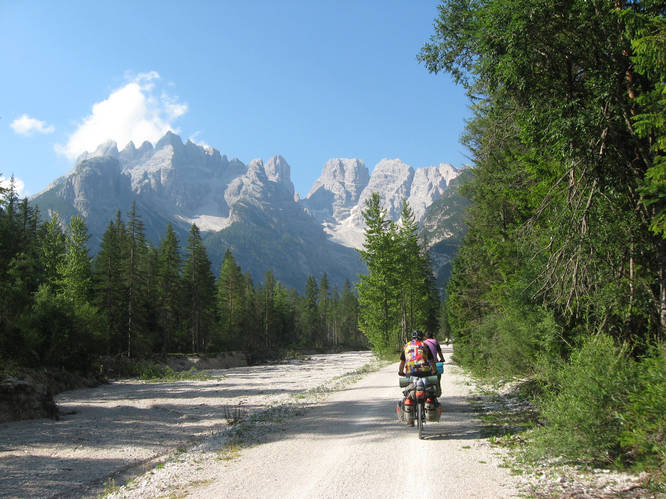 Велосипедом через Альпы и Апеннины