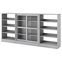 Сервант IKEA HAVSTA 283x134x37 см серый 792.768.59