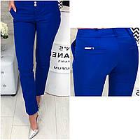 Женские брюки, арт 314, цвет электрик