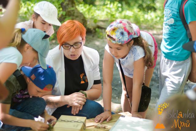 фото квест для детей на выпускной на природе