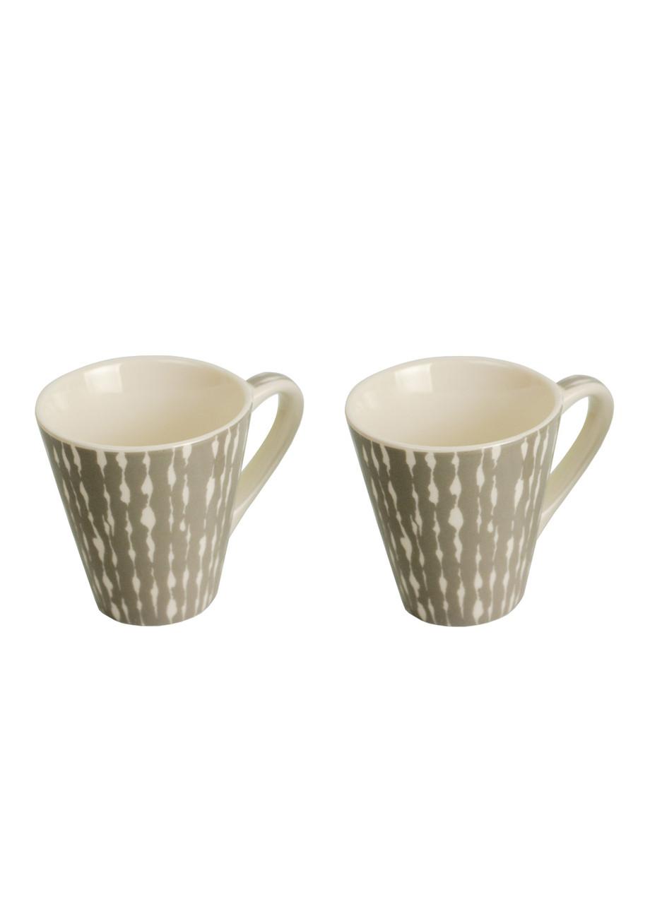 Набор кофейных чашек (2 шт) Penny 0,075л Белый, Серый