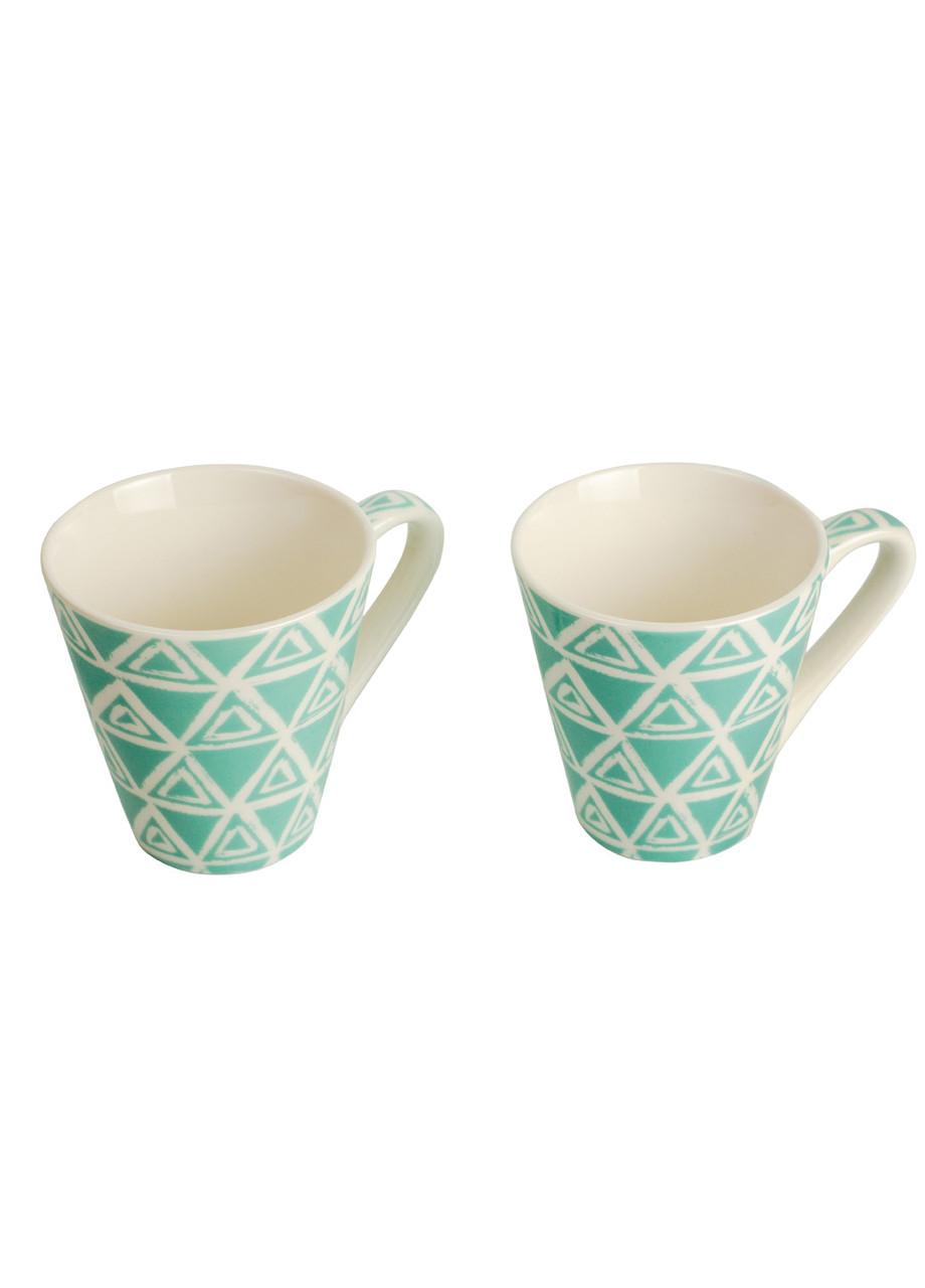 Набор кофейных чашек (2 шт) Penny 0,075л Бирюзовый