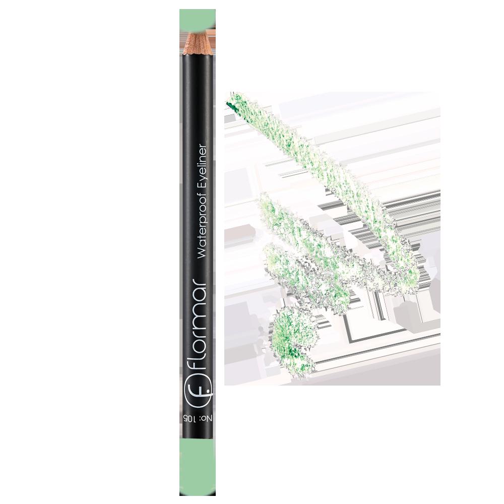 Водостійкий олівець для очей Flormar 109 Baby Blue 1,7 г (2736033)