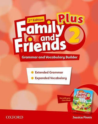 Family and Friends Second Edition 2 Plus Grammar and Vocabulary Builder, фото 2