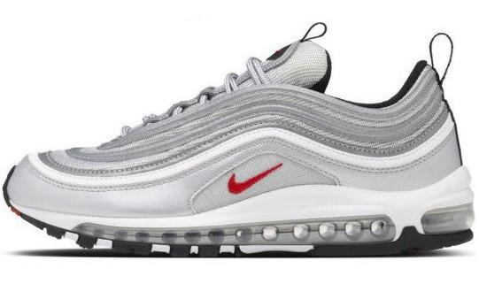 35433a54 Кроссовки мужские, женские Nike Air Max 97 Silver/Серебристые Bullet  Reflective-