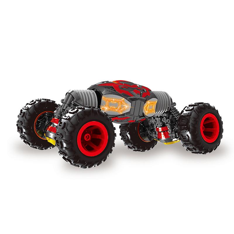 Радіокерована іграшка SUNROZ Ultra Long Twisting Car дитячий трюковий позашляховик на р/к Червоний (SUN3717)