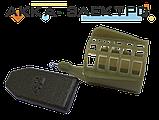 Кормушка пластиковая с крыльями, съемный груз малая 30х35мм 28г 10шт., фото 2