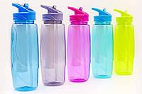 Бутылка для воды с камерой для льда спортивная 750мл